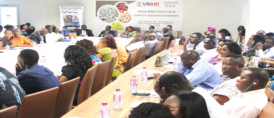 AGOA SENSITIZATION & CAPACITY BUILDING WORKSHOP