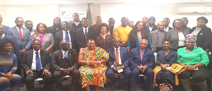 GNCCI HOLDS HIGH-POWERED BUSINESS MEETING UNDER AGOA IN NEW YORK