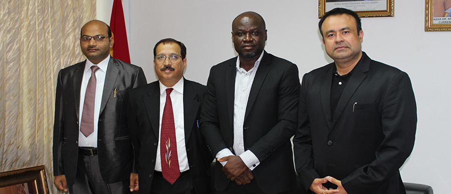 GNCCI RECEIVES DELEGATION FROM NATIONAL RESEARCH DEVELOPMENT CORPORATION (NRDC), INDIA