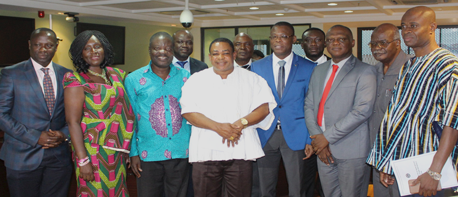 GNCCI Executive meets with Parliamentary Select Committee on Trade, Industry and Tourism