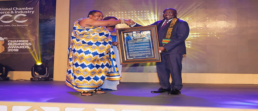 GNCCI CONFERS HONORARY AWARD ON DR. BAWUMIA FOR CHAMPIONING DIGITIZATION