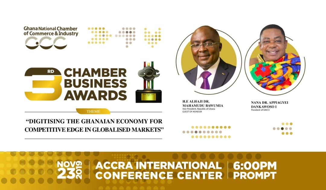 3RD EDITION OF THE CHAMBER BUSINESS AWARDS